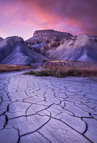 Mt garfield mud crack sunset asf gallery dvagmg
