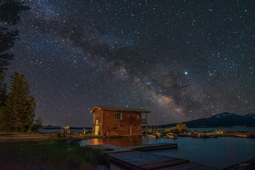 The boat house   jacksn lake idaho vz7v68