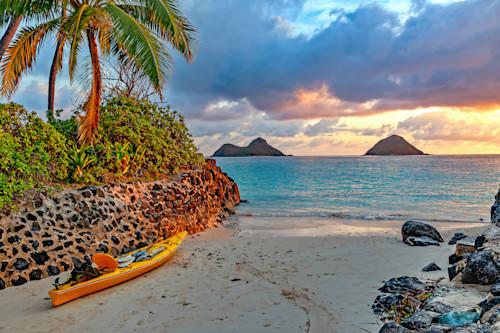 The mokes and sunset kailua oahu hawaii dtcnab