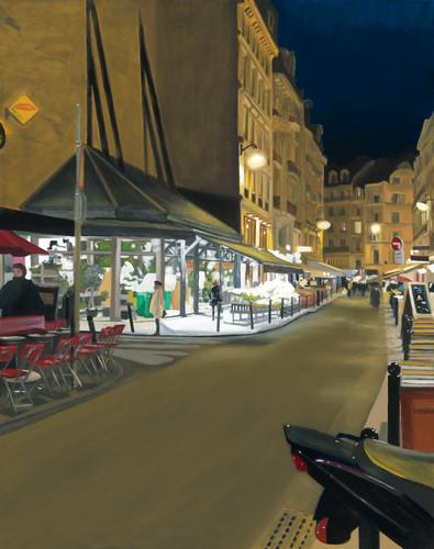 Parisian florist night 2020 print rkqmzs