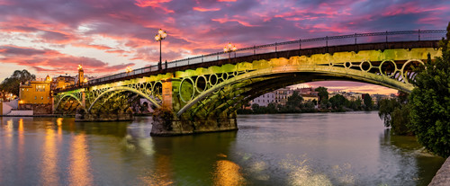 Triana bridge seville spain tox9hm