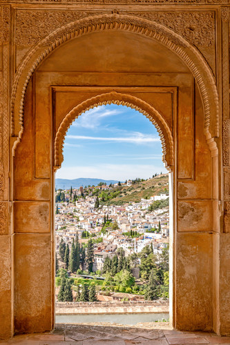 The alhambra granada and palace spain oedanl