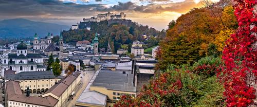 Salzburg and fall colors austria pyjiik