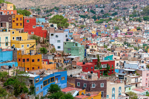 Overlook city of guanajuato mexico cdsi1n
