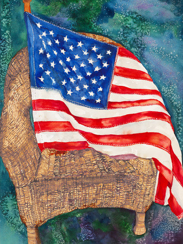 American flag vjgadk