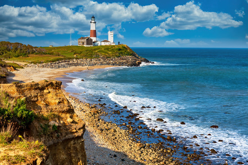 Montauk point long island and light house sk4cgp