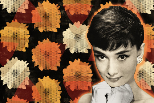 Audrey hepburn pop art richard prescott mod city gallery yrryjz
