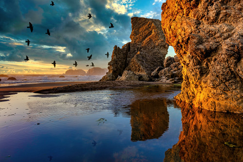 Late light and rocks brookings oregon jzqiyy