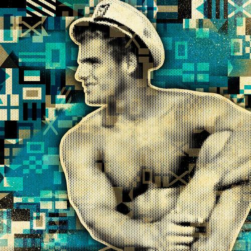 Nautical vintage sailor art mod city gallery richard prescott ij1isv