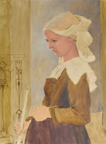 Breton girl study d610 print 6000 xlpyii