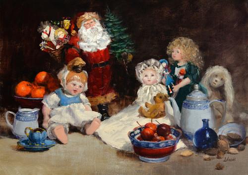 Christmas dolls print d610 6000 psszzm