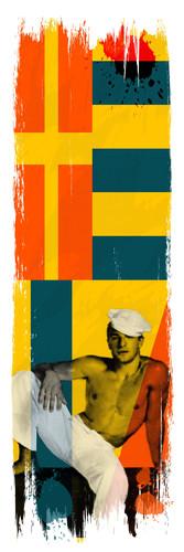 Gay sailor art signal flags 1 vkphby