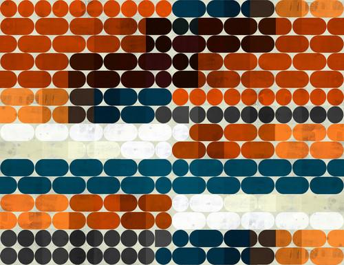 Counting capsules geometric art bxzdvl