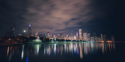 October nights in chicago fgf0os