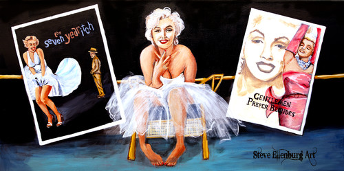 Marilyn painting lwussr