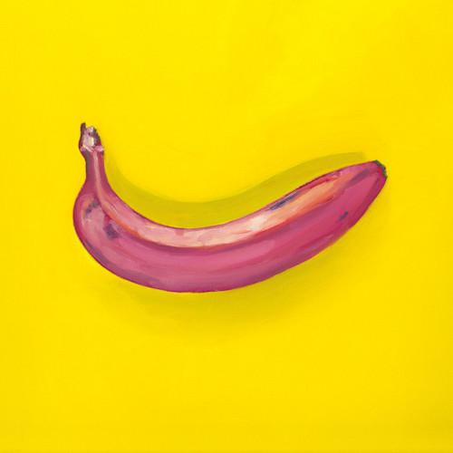 Banana oil painting print bgwsgp