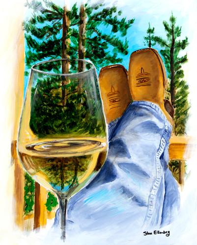 Boots painting wnl8i5