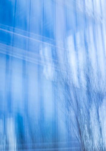 Glass building blue ylrppn