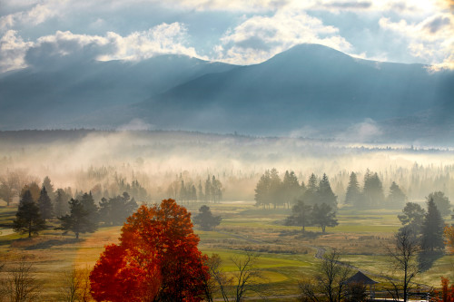 Jkp6 0706 mountains and field in mist lrs7sh