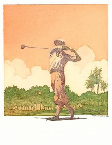 Golfer honda golf classic j4c8gf