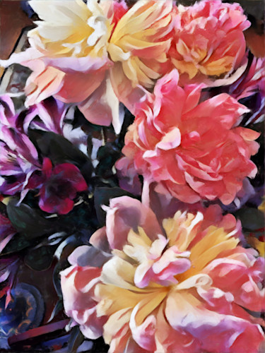 Spring bouquet i arhehn