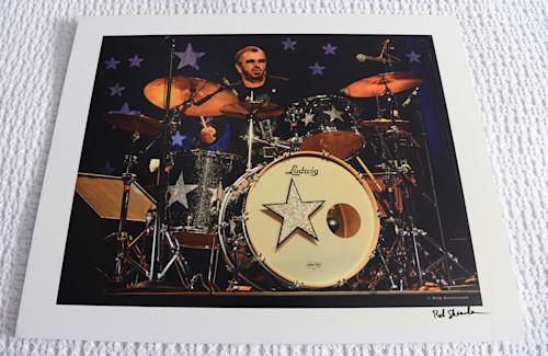 Ringo starr drums 20x16 print on foamcore dcgpcs