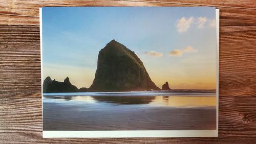 Card cannon beach sunset ybplc8