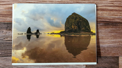 Card glass beach avvmbi