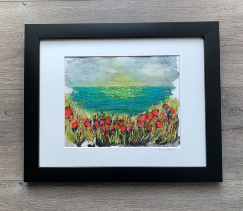 Poppies by the sea   hanging ii zendra