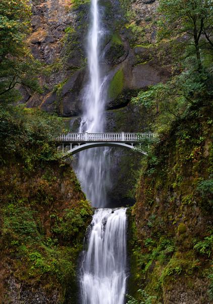 Multnomah Falls In Oregon S Columbia River Gorge