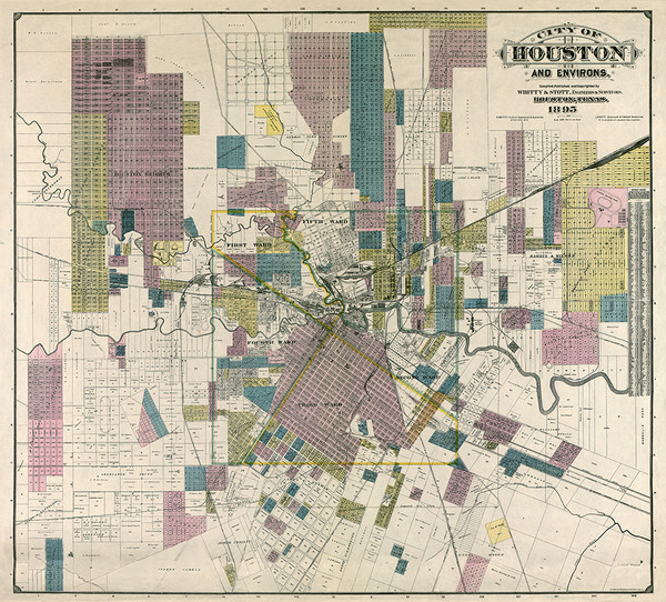 Houston, Texas 1895