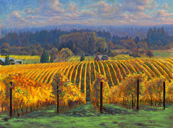 Home Oregon Landscape Art Original Paintings Fine