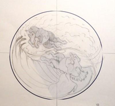 Nightmare Mesa Pegasus works in progress composite