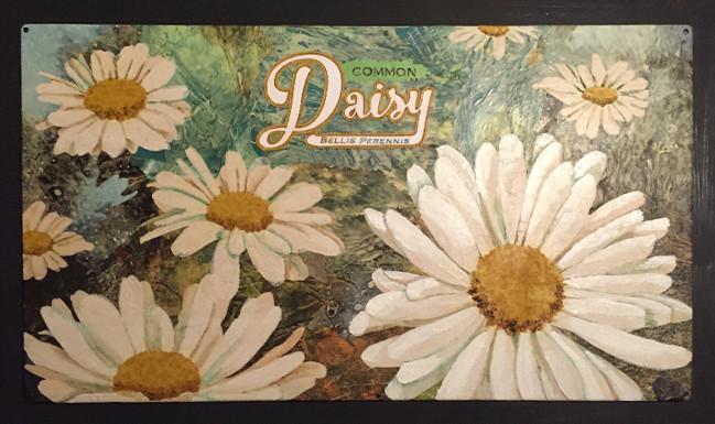 "The finished artwork: Jenny Goring's ""Daisy #1."""