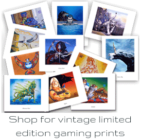 Shop limited edition prints from Magic the Gathering and more