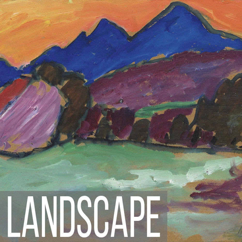 Abstract landscape images available in canvas, paper & poster prints.