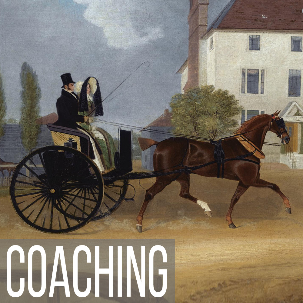 Coaching & Carriage art print reproductions