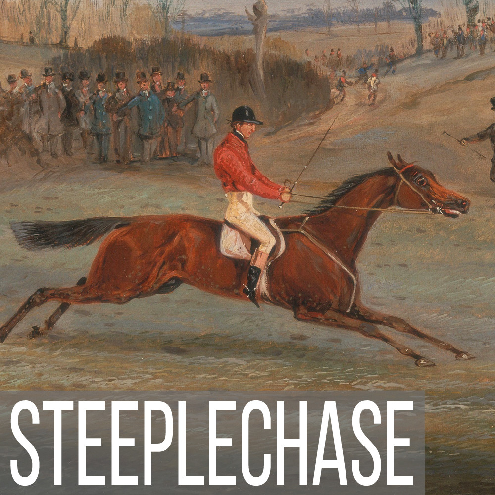 Steeplechase art print reproductions