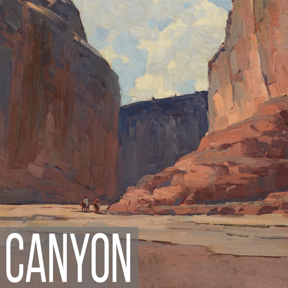 Canyon landscape art print reproductions