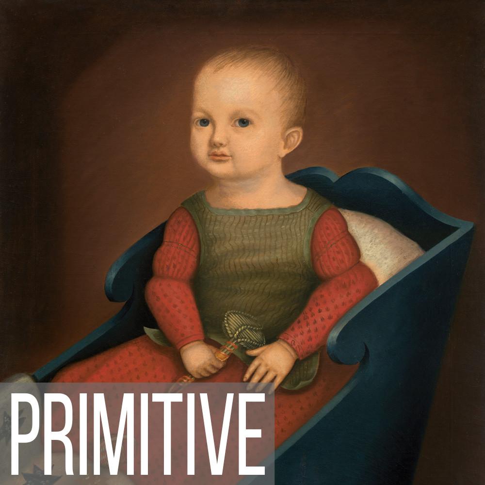 Primitive & Folk Portrait Art print reproductions