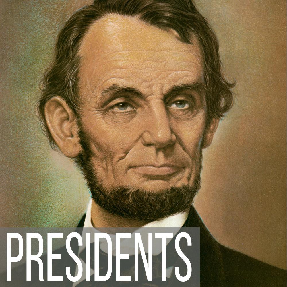 American Presidential portrait art print reproductions