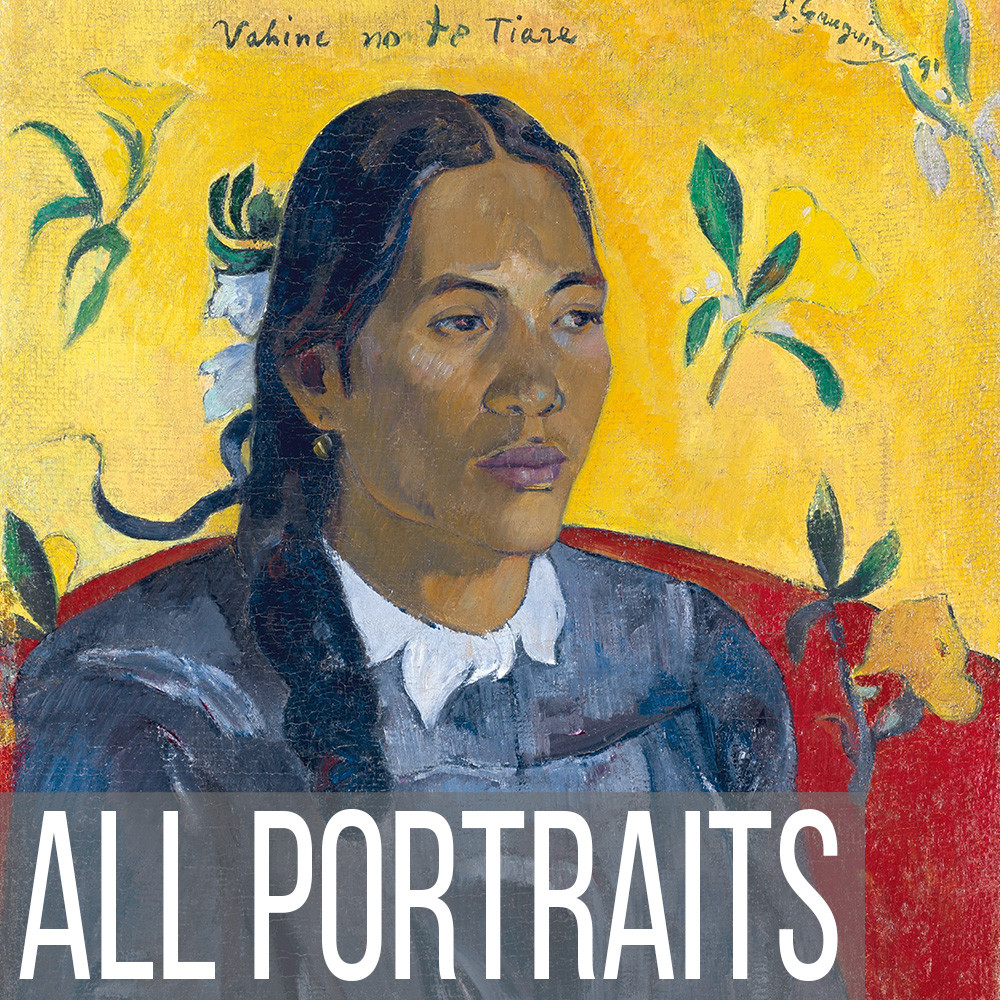 All Portrait art print reproductions