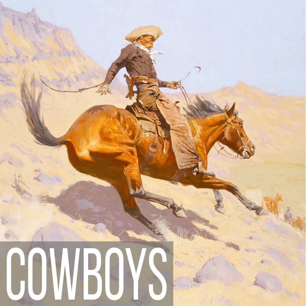 Cowboy Art print reproductions