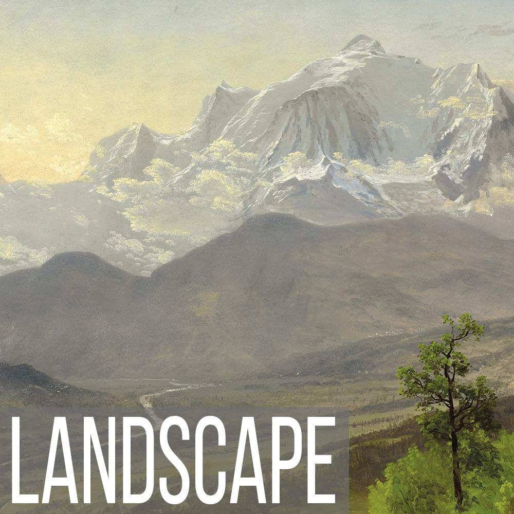 Western Landscape art print reproductions