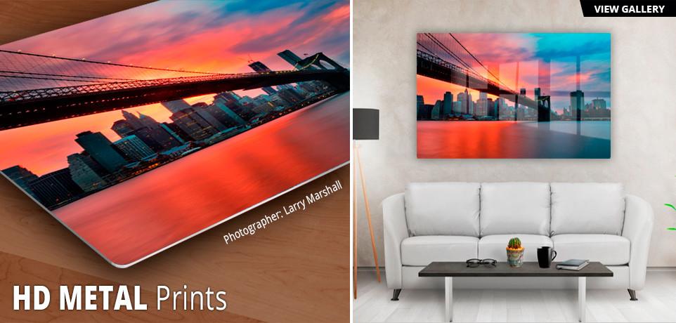 HD Metal Prints - Photographs Printed on Aluminum ...