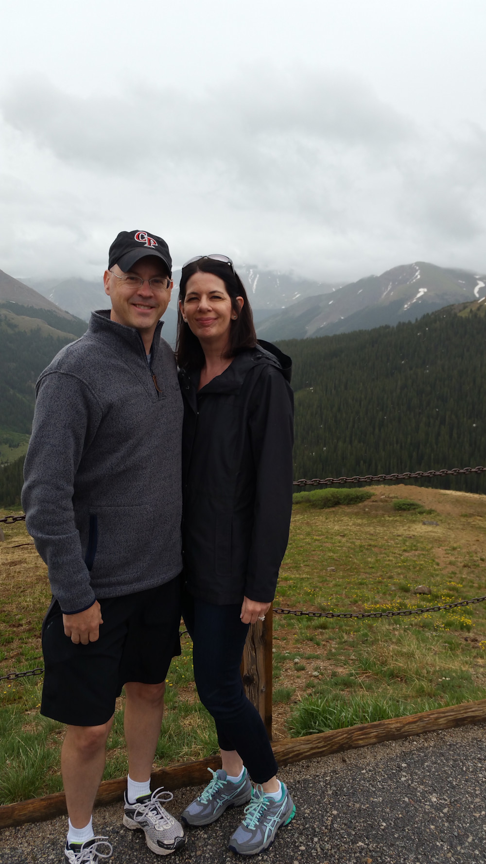 My wife, Marla and I up in the Continental Divide of Colorado.