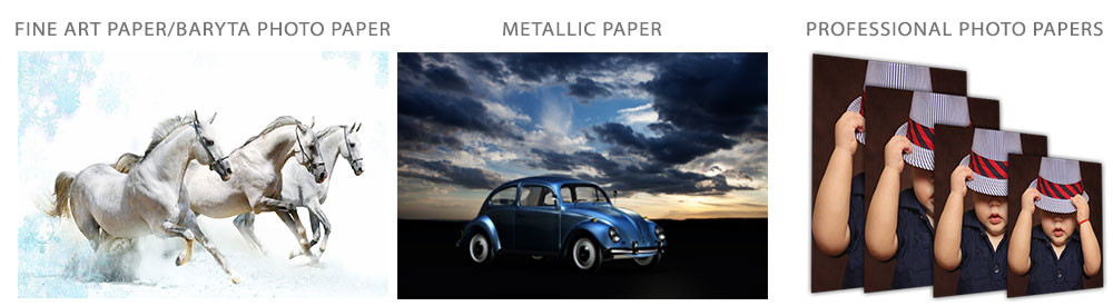 Photographic Paper Prints