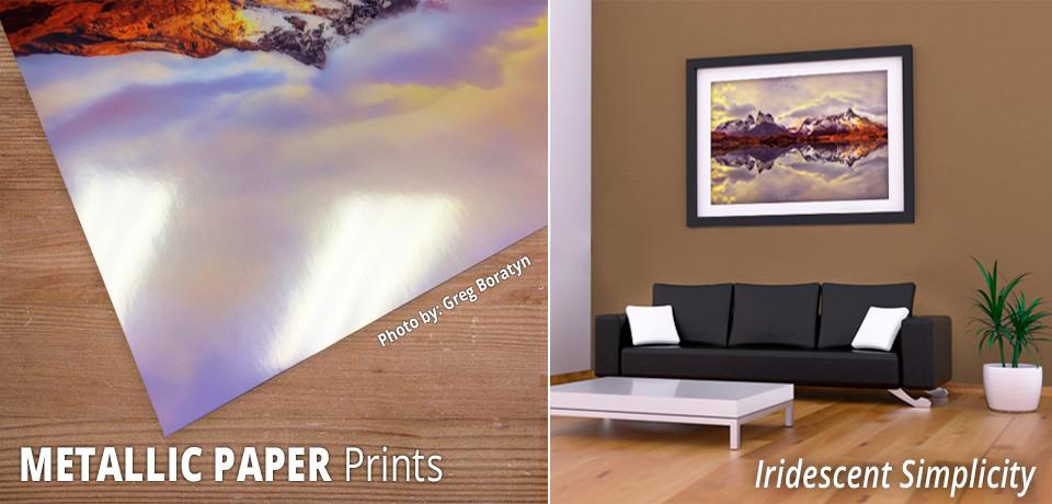 Metallic Paper Prints – Artbeat Studios