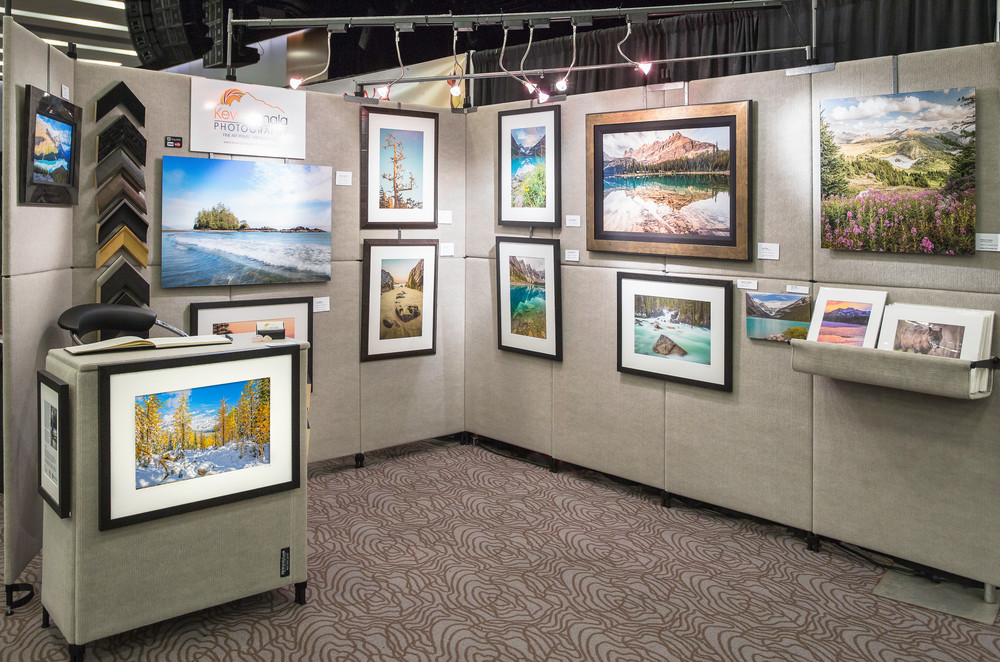 one of many exhibition and art sales trade shows that eventually led to opening print and frame