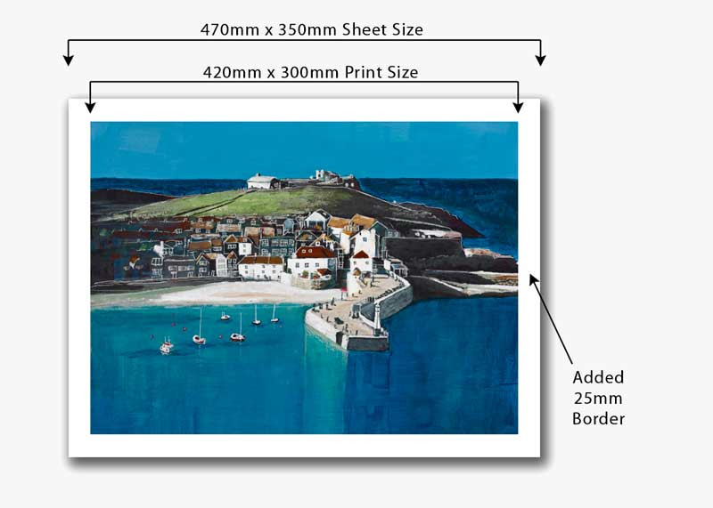 print size and sheet size